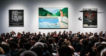 تعرف على أغلى لوحة  بيعت لفنان على قيد الحياة
