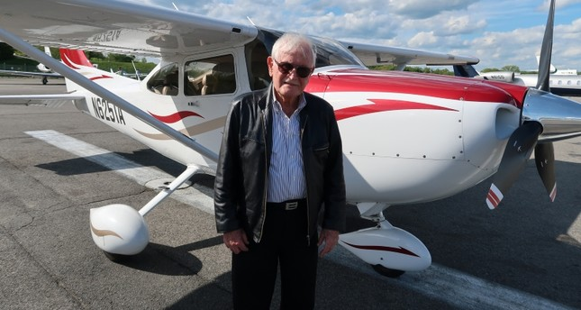 84-year-old Turkish pilot surpasses half a century flying in American skies