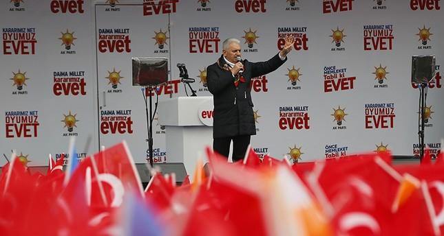يلدريم يدعو الدول الأوروبية لعدم التدخل في الشؤون الداخلية لتركيا