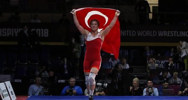 أدار: أثبتنا لأوروبا مدى قوة المرأة التركية وعيني على ذهبية طوكيو