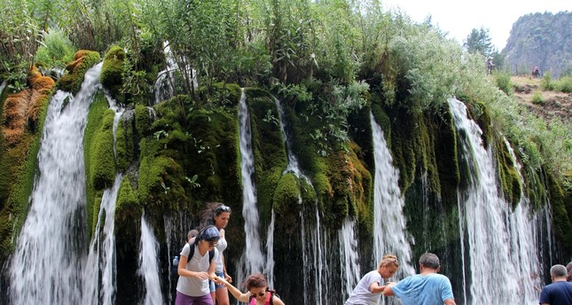 Need cooling off from summer heat? Cold water of Küp Falls a tempting destination
