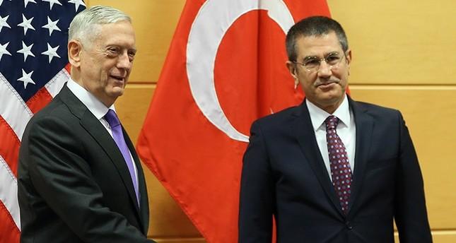 وزير الدفاع التركي يلتقي نظيره الأمريكي في بروكسل