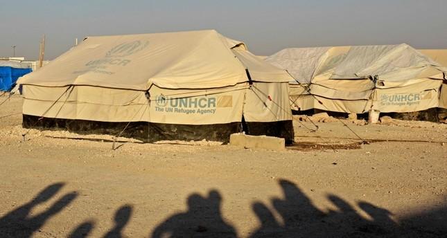 أحد مخيمات اللجوء السورية في ريف الرقة الفرنسية
