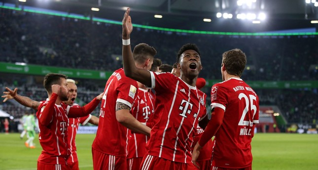 Lewandowski rescues late win for Bayern in Wolfsburg