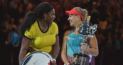 The world's former Number One Serena Williams gets her quest for an Open-era record 23rd Grand Slam title underway in a difficult first-round clash against Switzerland's Belinda Bencic in forecast...