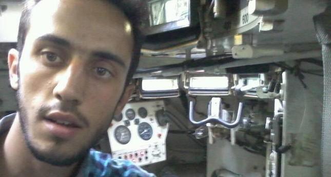 الشاب السوري محمد كعكات (صورة من حسابه الشخصي بموقع فيسبوك)