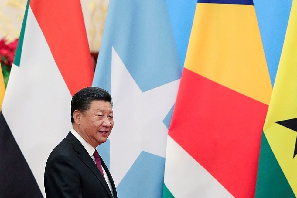 Chinese President Xi Jinping attends the 2018 Beijing Summit on China-Africa Cooperation at the Great Hall of the People in Beijing, China, Sept. 4, 2018.