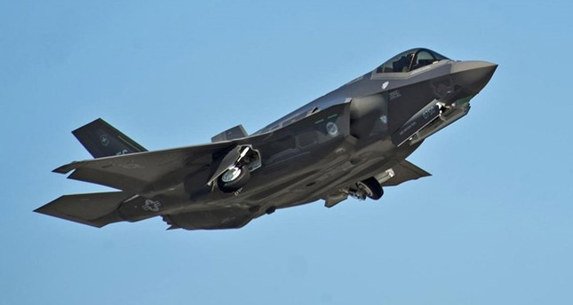 An F-35A Lightning II Joint Strike Fighter takes off on a training sortie at Eglin Air Force Base, Florida in this March 6, 2012 file photo. (Reuters Photo)