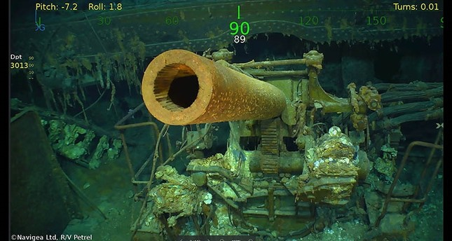Sunken WWII US aircraft carrier found off Australian coast