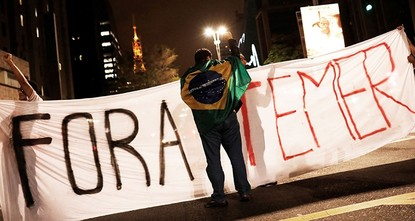 pBrazil's political crisis deepened sharply on Thursday with corruption allegations that threatened to topple the president, undermine reforms aimed at pulling the economy from recession and leave...