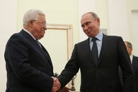 Palestine's Abbas meets Russian counterpart Putin, says US not the only mediator in talks with Israel
