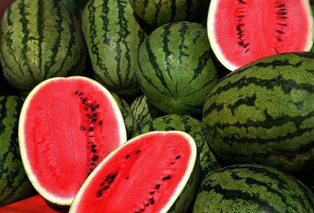6- Eat watermelon