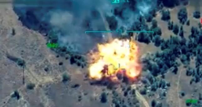 الجيش التركي يعلن تحييد 15 إرهابيا من بي كا كا شمالي العراق