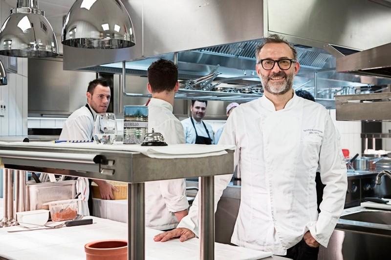 Italian Michelin-starred chef Massimo Bottura (File Photo)