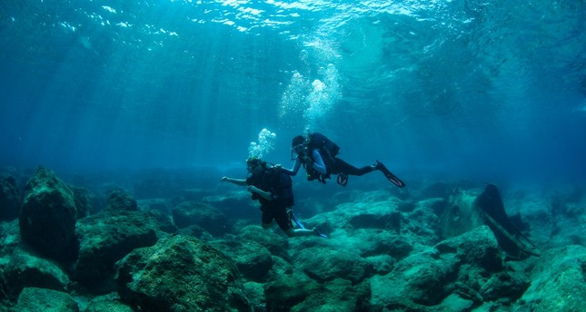 Kaş is Turkey's number one diving spot for amateurs and professionals.