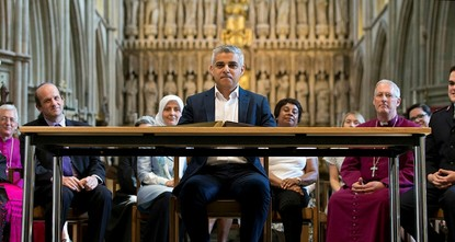 pLondon Mayor Sadiq Khan said on Sunday that it would be wrong for Britain to host U.S. President Donald Trump on a state visit, describing some of the U.S. leader's views on Islam as...