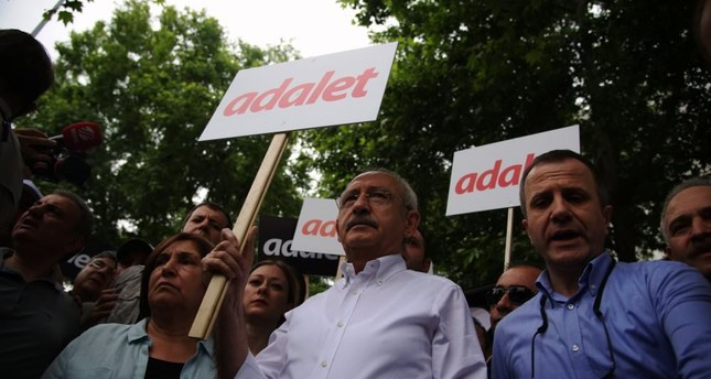 Kılıçdaroğlu yesterday embarked on a long march from the capital city of Ankara to Istanbul.