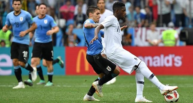 ديوك فرنسا إلى نصف نهائي كأس العالم