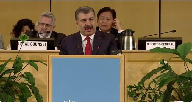 وزير الصحة التركي فخر الدين كوجا