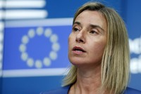 EU will support Jerusalem peace negotiations, Mogherini says