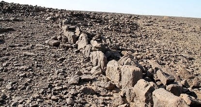 pAfter identifying nearly 400 stone gates in Saudi Arabia's desert last month, Dr. David Kennedy got his chance at an aerial close-up look at the ancient mysteries./p