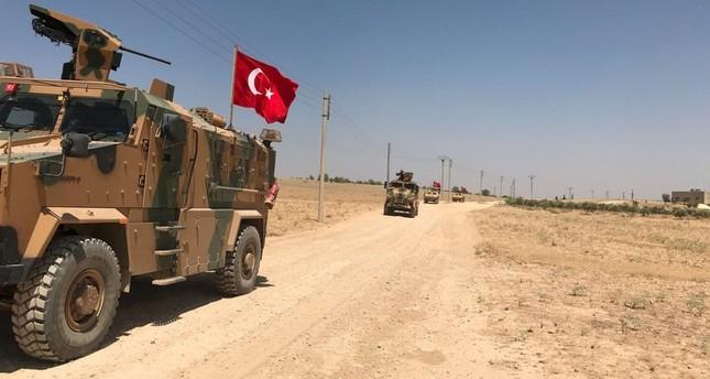 القوات التركية تسيّر الدورية الـ 45 في منبج السورية