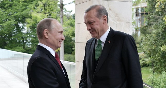 President Erdoğan and Russian President Putin discussed the latest developments in war-torn Syria when they met in Ankara on Sept. 28.