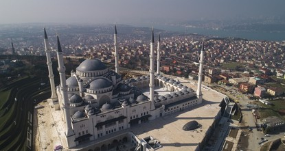 Turkey's biggest mosque complex counts down to opening