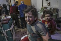 The bombardment of Syria's opposition-held eastern Ghouta area near Damascus by pro-Assad forces has killed 250 people in the 48 hours since Sunday night, the Syrian Observatory for Human Rights...