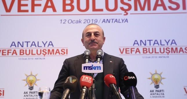 تشاووش أوغلو يرحّب بـ تفهّم نظيره الأمريكي دوافع تركيا لحماية حدودها