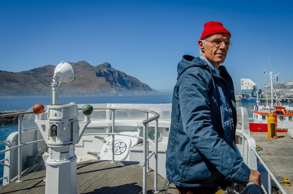 u201cThe Odysseyu201d is about u201cCaptainu201d Jacques Cousteau, who became famous for his passion for the oceans and his relationship with his son Philippe.