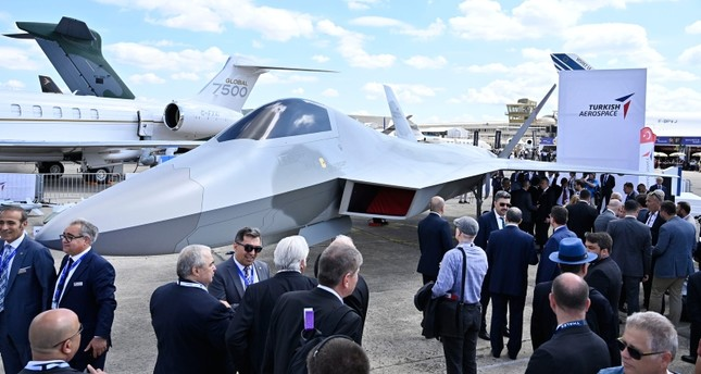 Turkey's first domestic fighter jet introduced at Paris Air Show