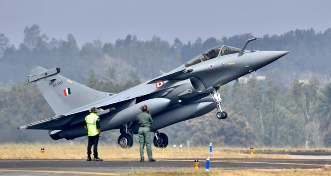 طائرة رافال عاملة في الجيش الهندي الفرنسية