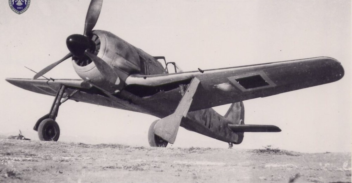 A Focke-Wulf 190 A-3 used by the Turkish Air Force.