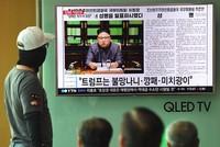 President Donald Trump is again assailing North Korea Kim Jong Un, saying that he