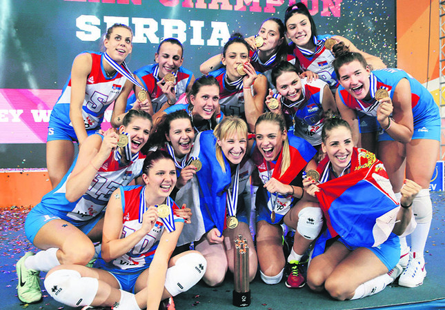 Serbia claim European title for second time