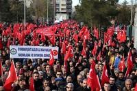 Thousands condemn PKK terror in Turkey's southeast