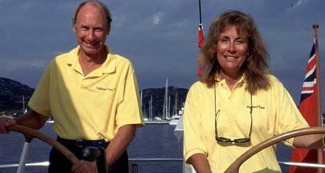 Scottish lord, family anchor in Turkey's southwestern Bodrum for holiday