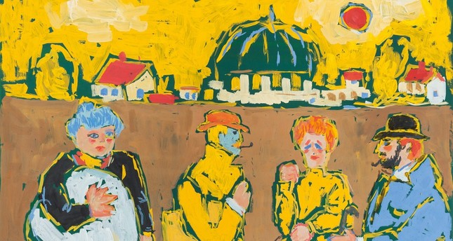 Turkish contemporary and modern paintings up for auction - Daily Sabah