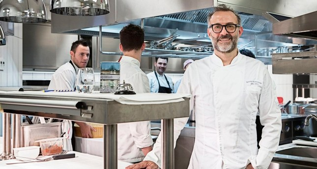 Italian Michelin-starred chef Massimo Bottura (File Photo)