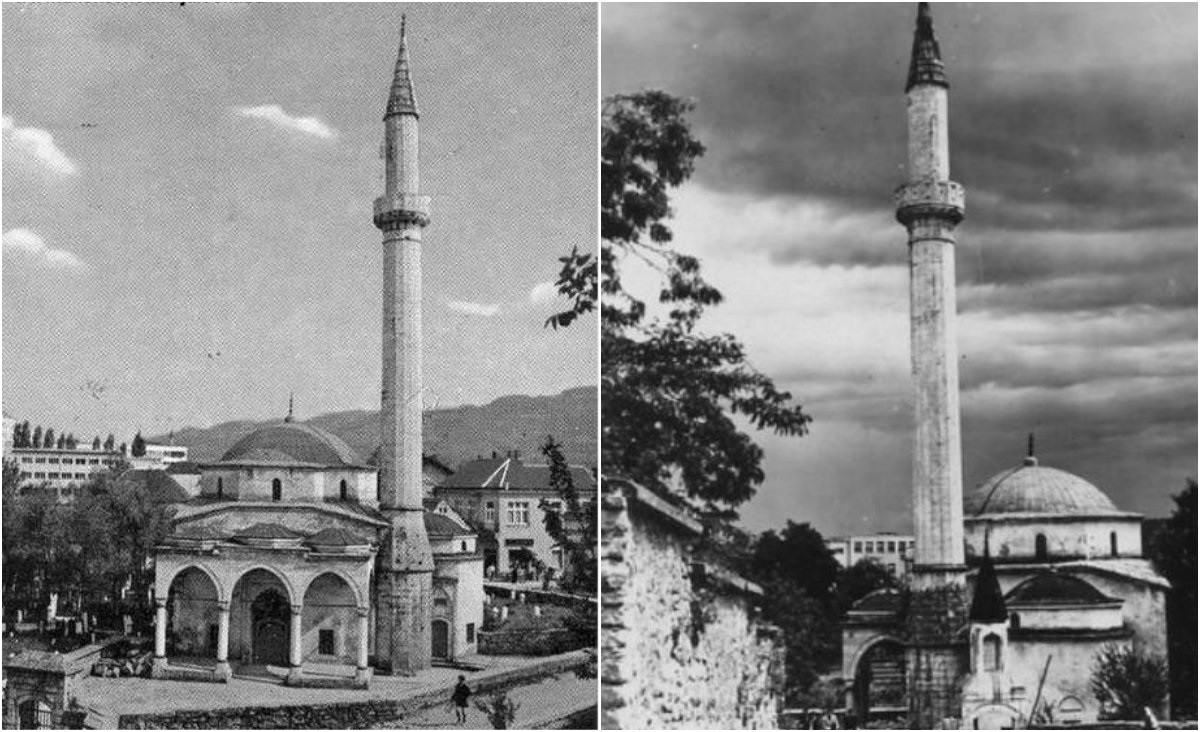 The Arnaudija Mosque before it was destroyed during the 1992-1995 Bosnian War.