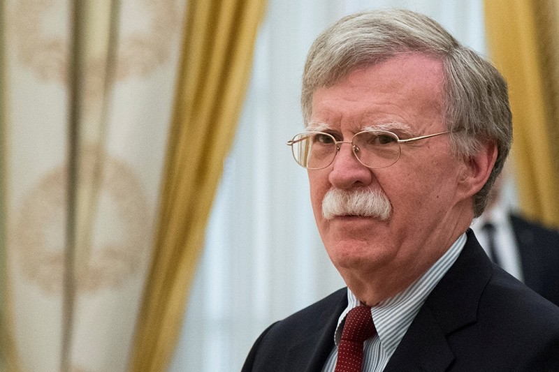 U.S. National Security Adviser John Bolton waits before a meeting with Russia's President Vladimir Putin at the Kremlin in Moscow, Russia June 27, 2018. (Reuters Photo)