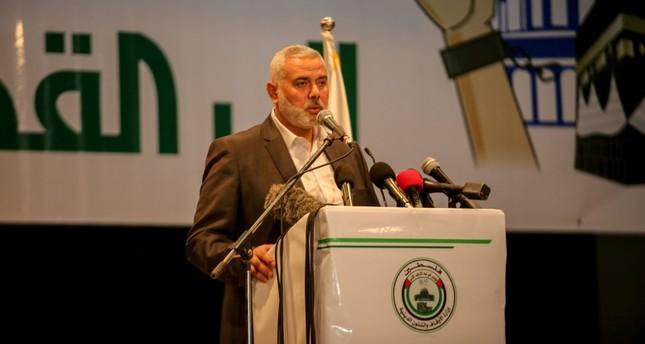 Hamas chief Haniyeh calls for alliance to save Palestine cause