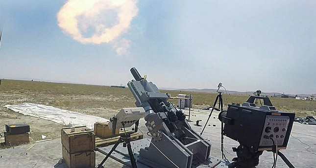 ASELSAN's ALKAR mortar defense system (AA Photo)