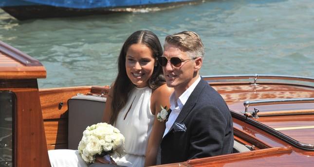 Schweinsteiger und Ivanovic heiraten in Venedig