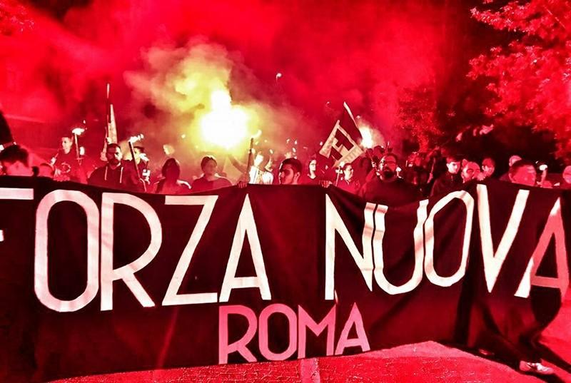 Photo: @ForzaNuovaRoma (Facebook)