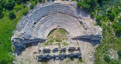 إعلان 2020 عام مدينة باتارا التركية وجوهرة حضارة ليقيا