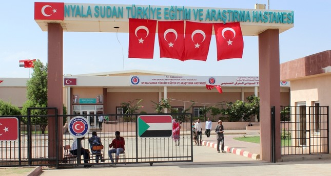 The hospital in South Sudan's Nyala treats about 120,000 patients every year. Turkey's TİKA also offers training for healthcare personnel across the world, including doctors and nurses in Kyrgyzstan.