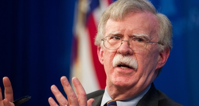 In this Dec. 13, 2018 file photo, National Security Advisor John Bolton unveils the Trump Administration's Africa Strategy at the Heritage Foundation in Washington. AP Photo