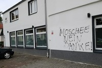 Mosque in NW Germany attacked with racist slurs, pork